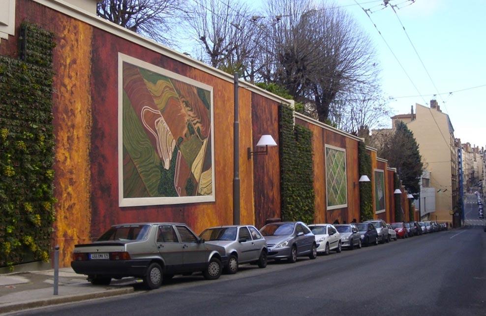 Top 5 des plus belles fresques v g tales pour sublimer nos villes depuis mo - Tableau vegetal jardiland ...