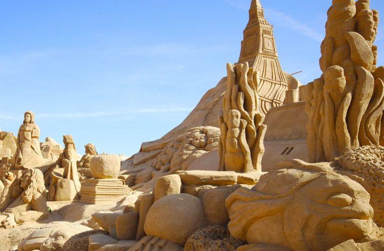 Les 5 concours de châteaux de sable les plus étonnants