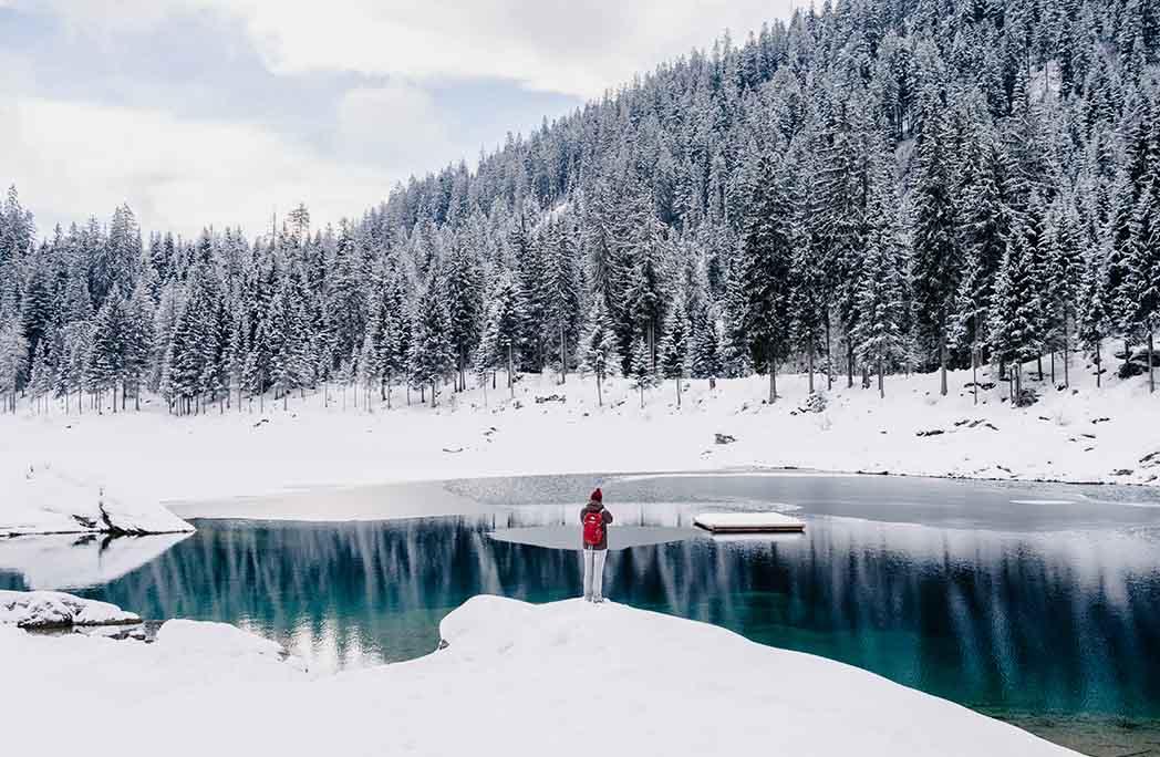 10 lieux majestueux à voir en hiver
