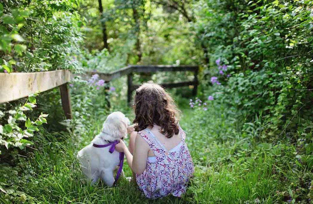 Les bienfaits des animaux sur les enfants