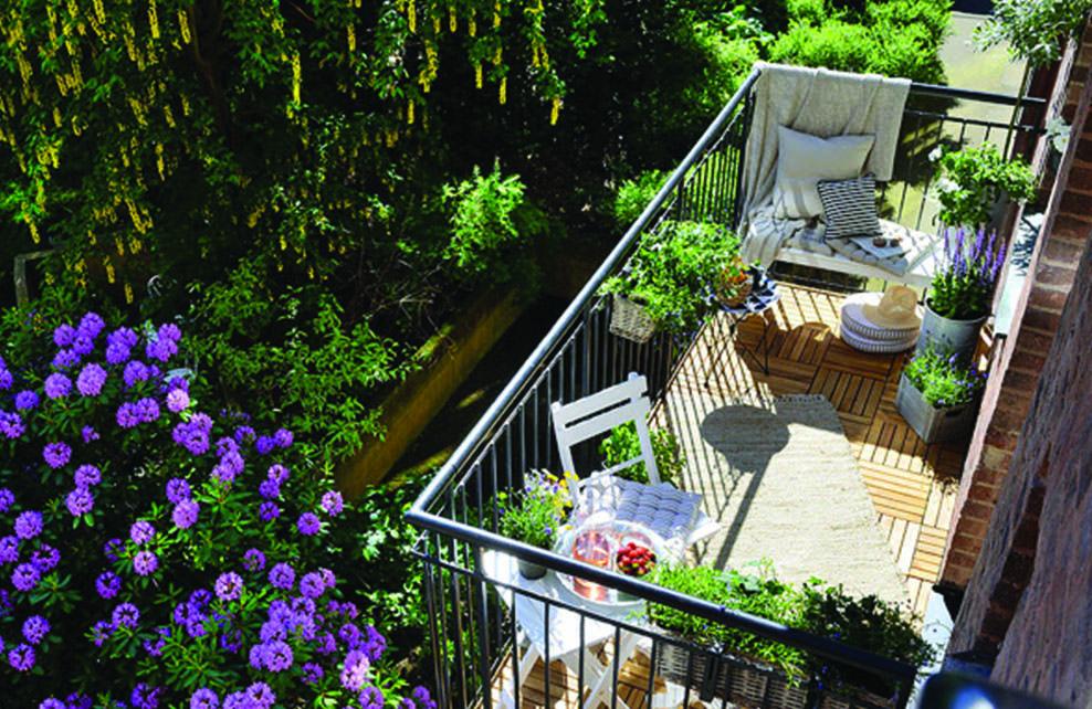 Deco mon jardin terrasse balcon depuis mon hamac for Deco balcon terrasse