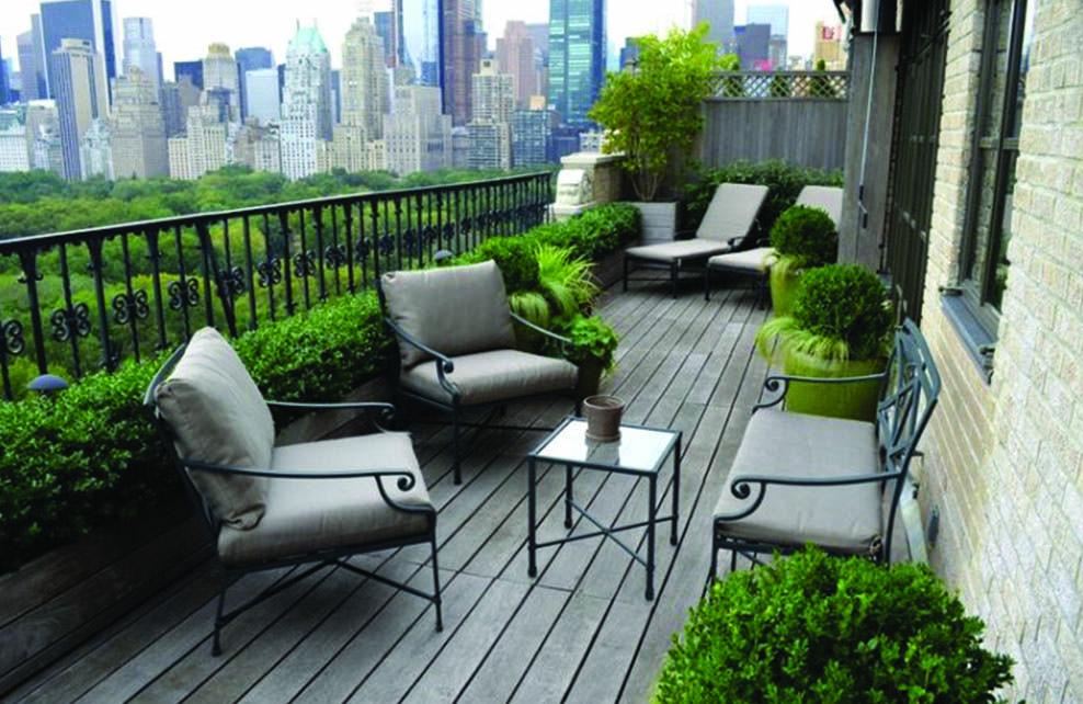 terrasses végétalisée