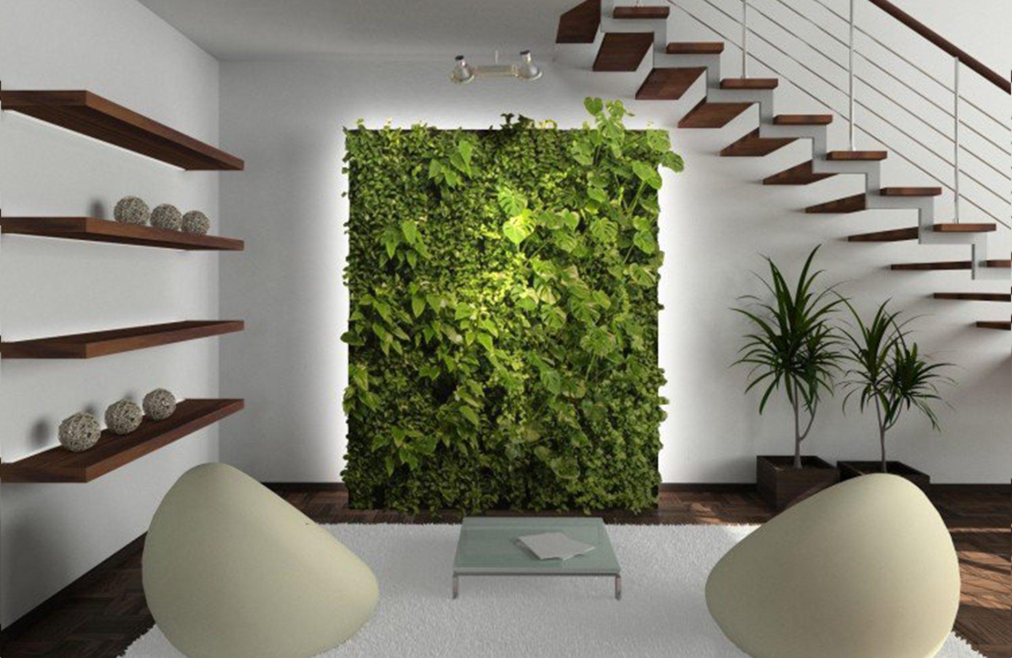 mur végétal dans son design