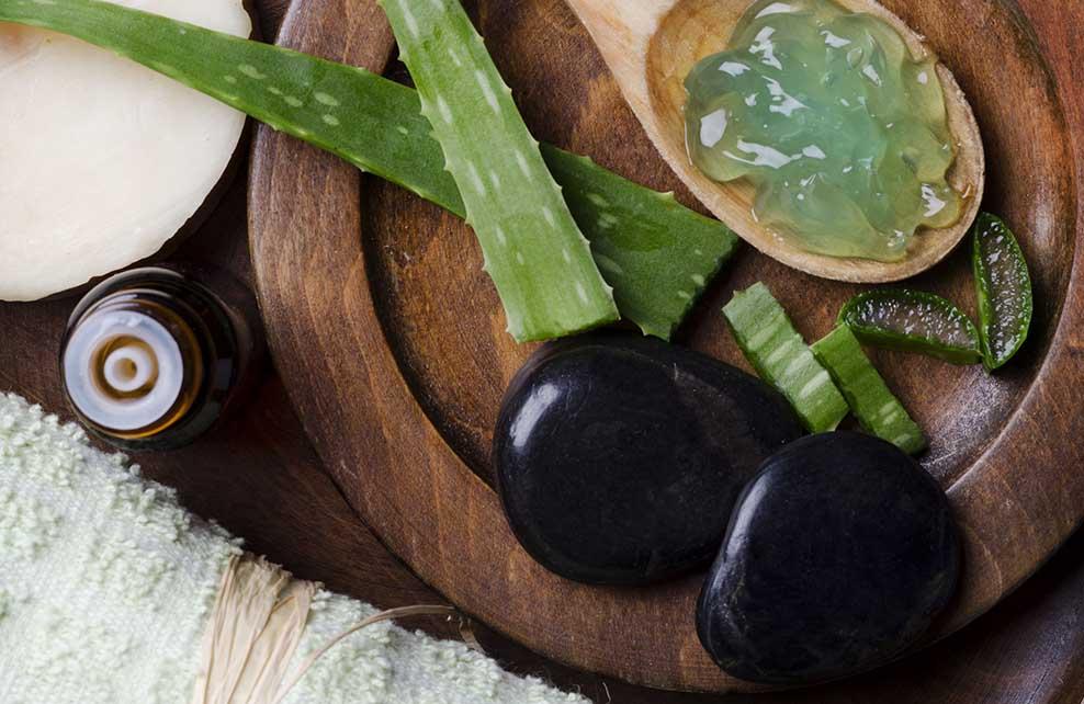 gel d'aloe vera utilisé pour cheveux et cosmétiques