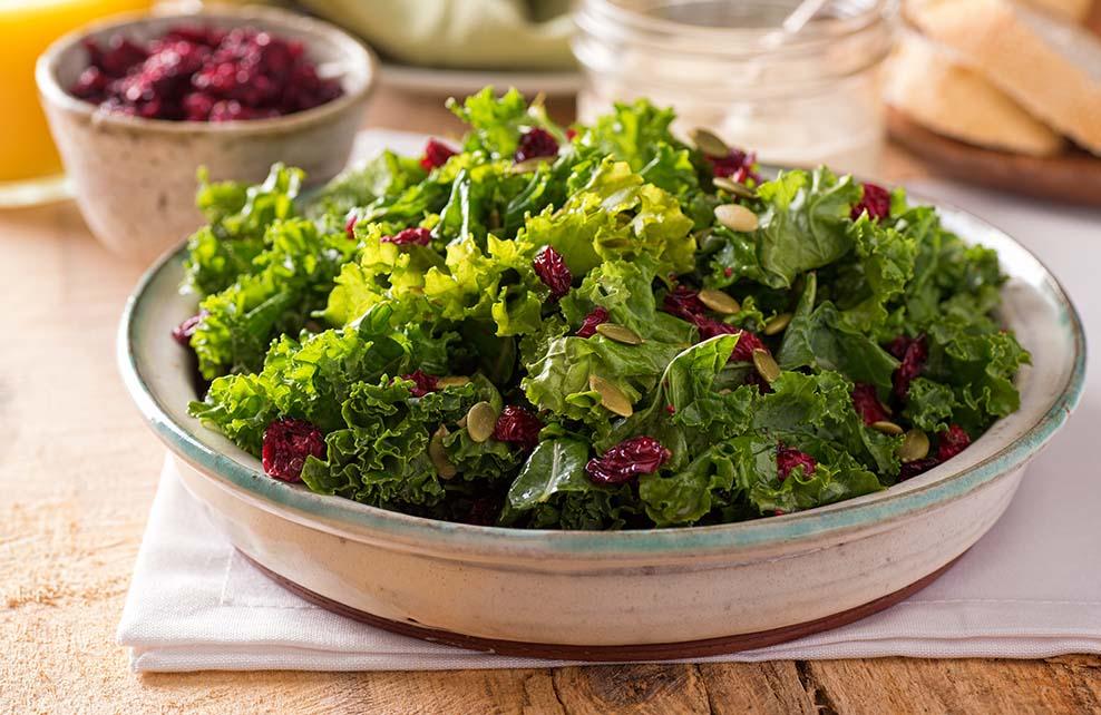 Salade de chou kale