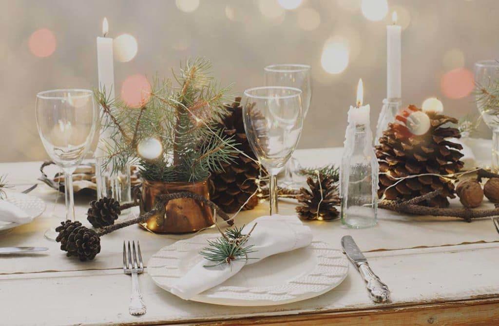 #DECO : 5 conseils pour une table de Noël unique