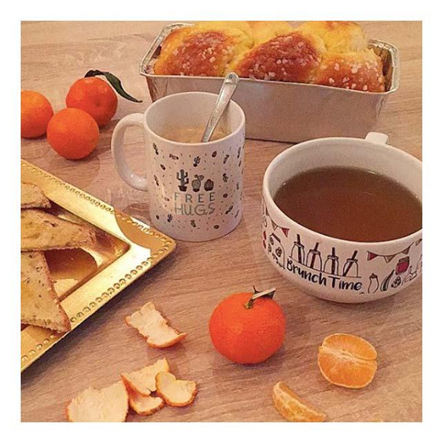 petit déjeuner hivernal et healthy