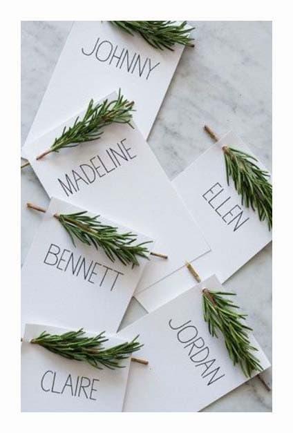 Portes noms pour Noël