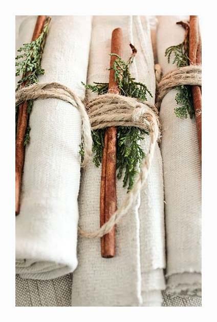 ronds de serviettes de Noël