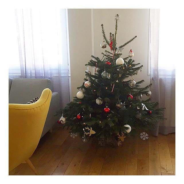 sapin de Noël dans salon