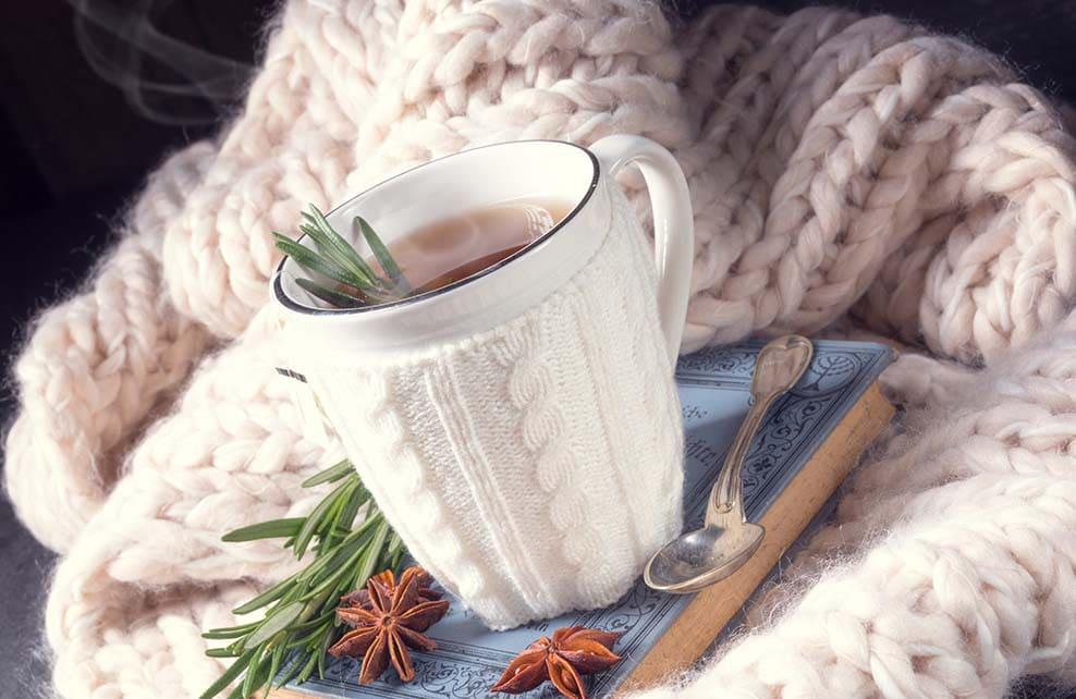 Tisane au romarin pour l'hiver