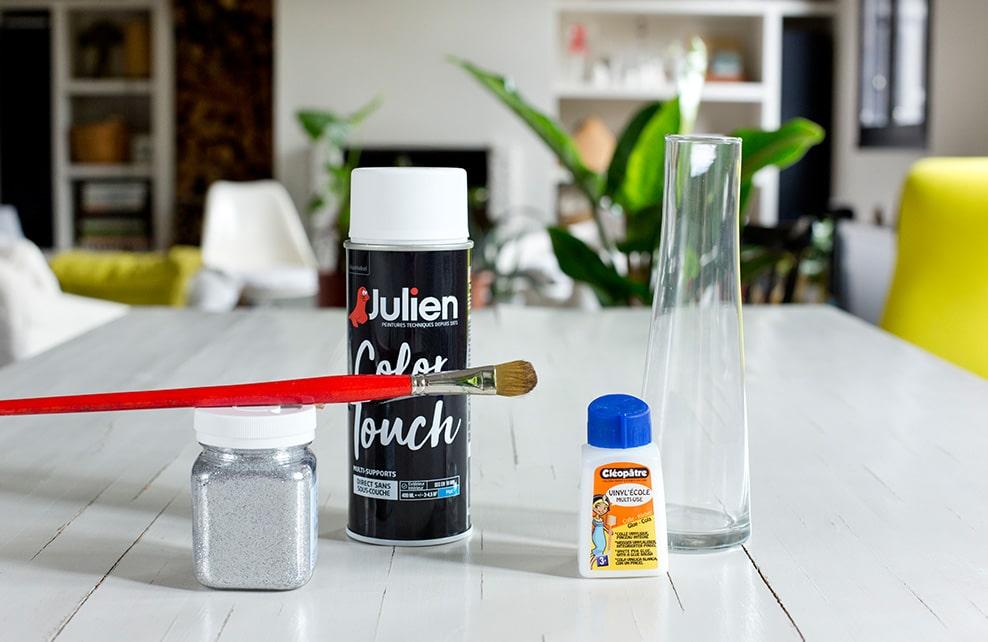 Matériel nécessaire pour réaliser un vase design