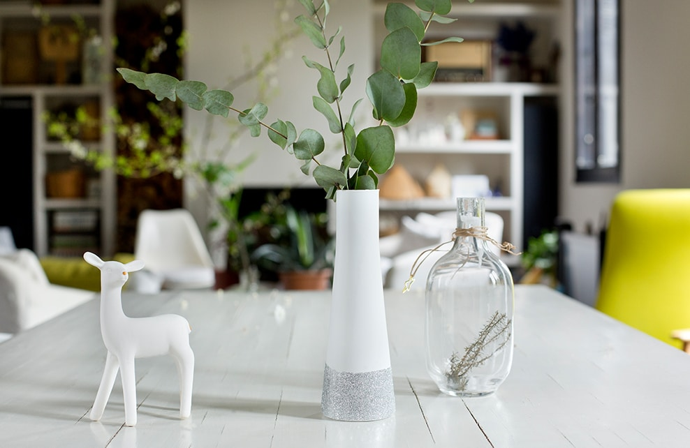 Réalisation finale du DIY vase design