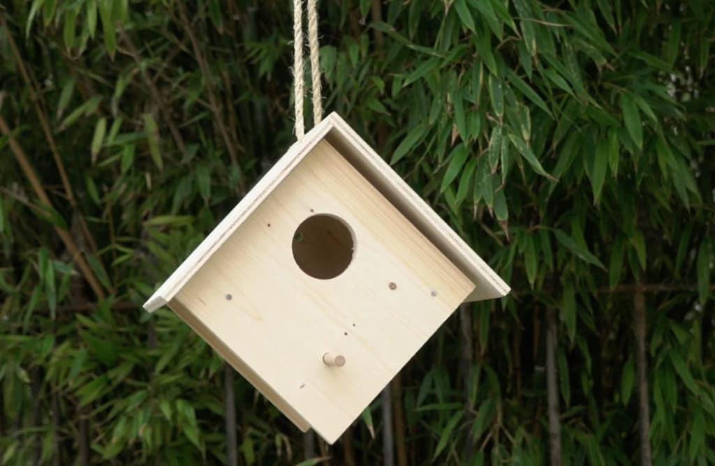 #DIY : Créer un nichoir pour oiseaux