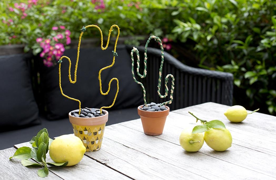 #DIY : Mon cactus en raphia