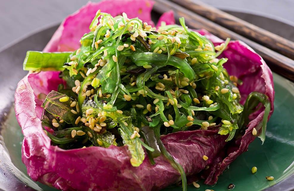 Cuisiner avec des algues nori
