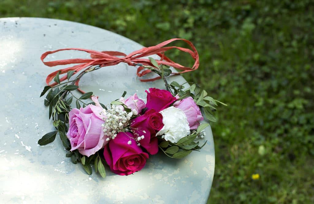 #DIY : Ma couronne de fleurs