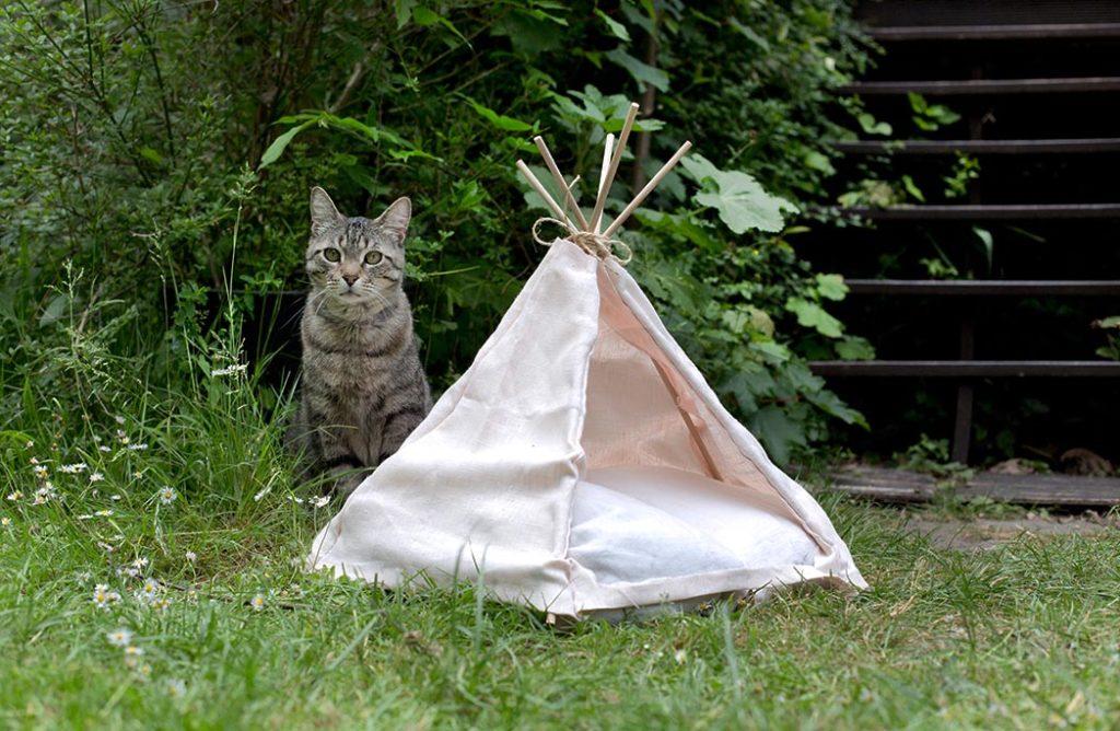 #DIY : Mon tipi pour chat