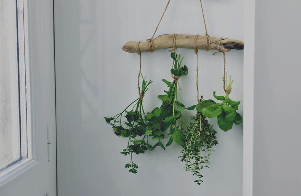 DIY : Ma suspension d'herbes séchées