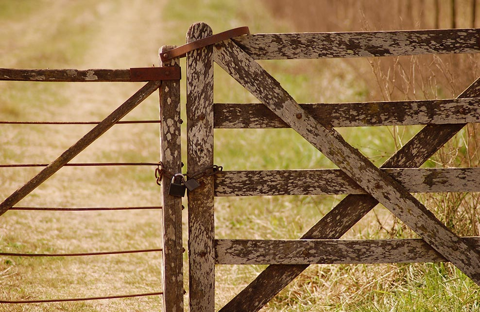 Barrières d'enclos de ferme