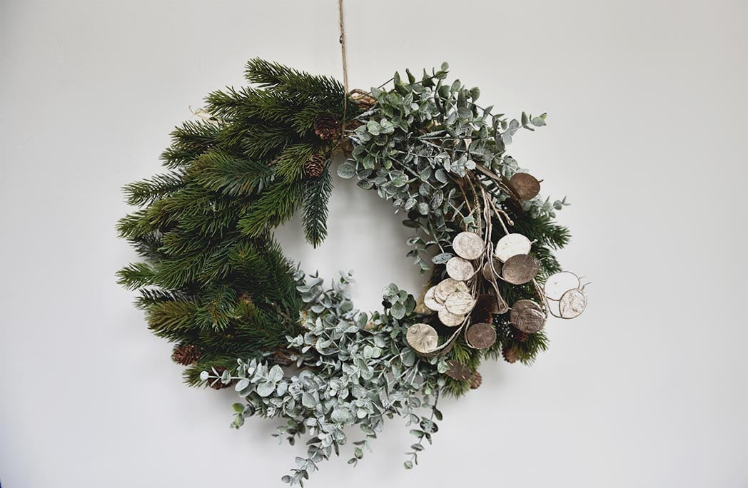 #DIY : Ma couronne de Noël