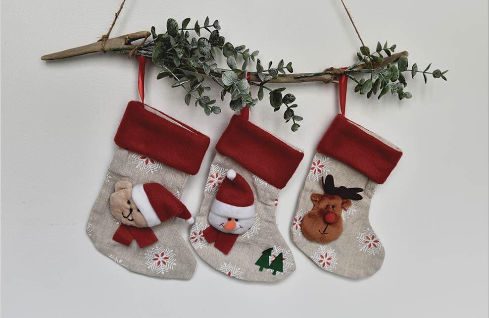 #DIY : Mes chaussettes de Noël suspendues