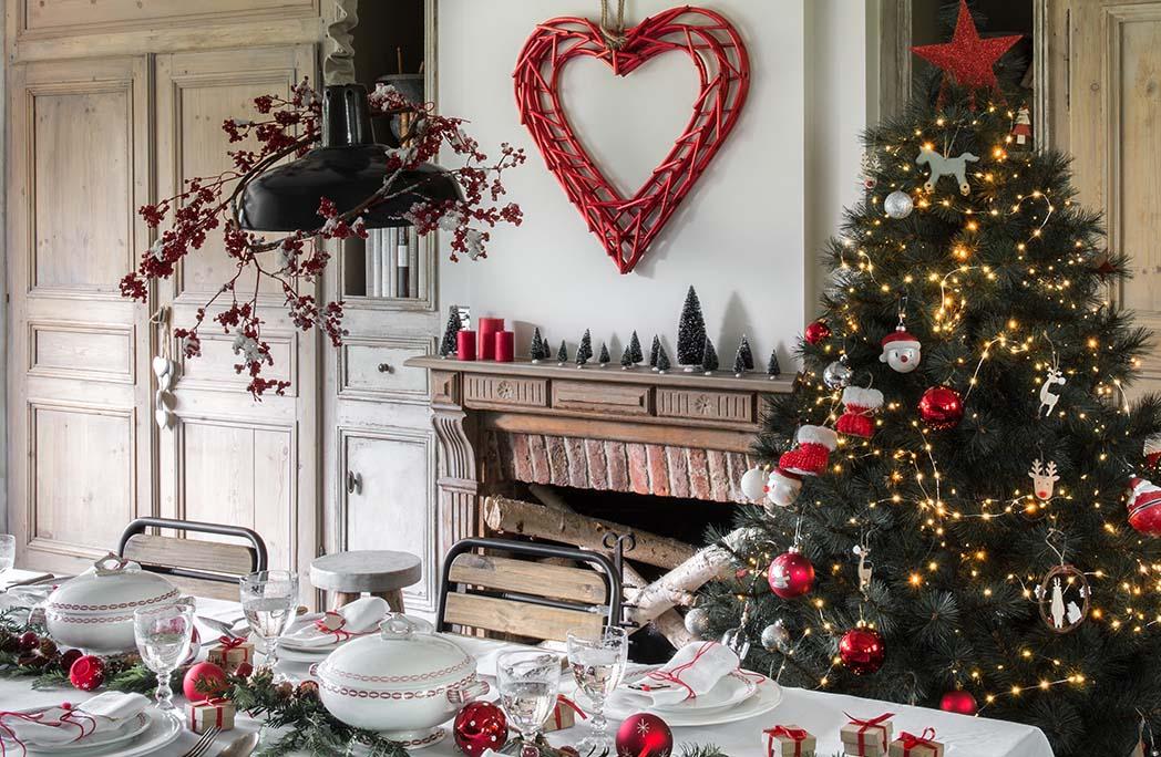 AMbiance de Noël traditionnelle