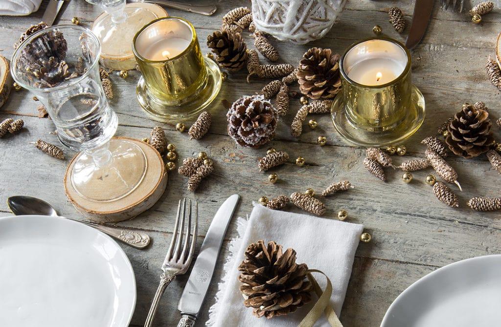 #Noël : 3 tendances pour votre décoration de table