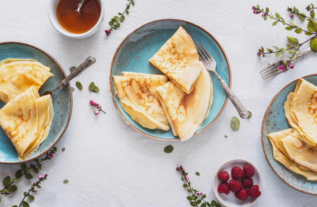 Top 5 des recettes healthy pour la chandeleur !