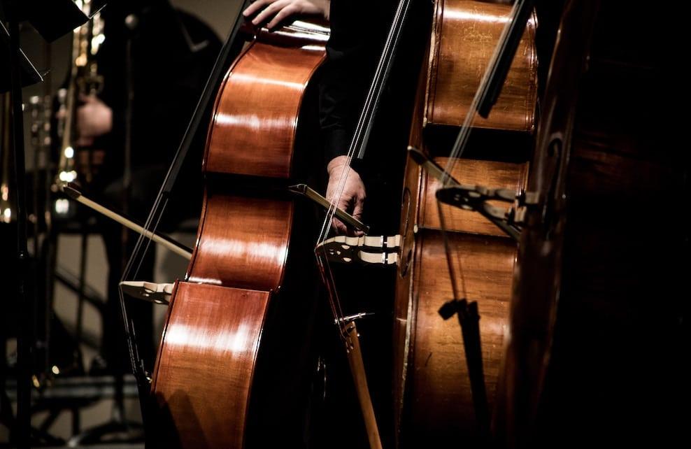 Focus sur des instruments de musique