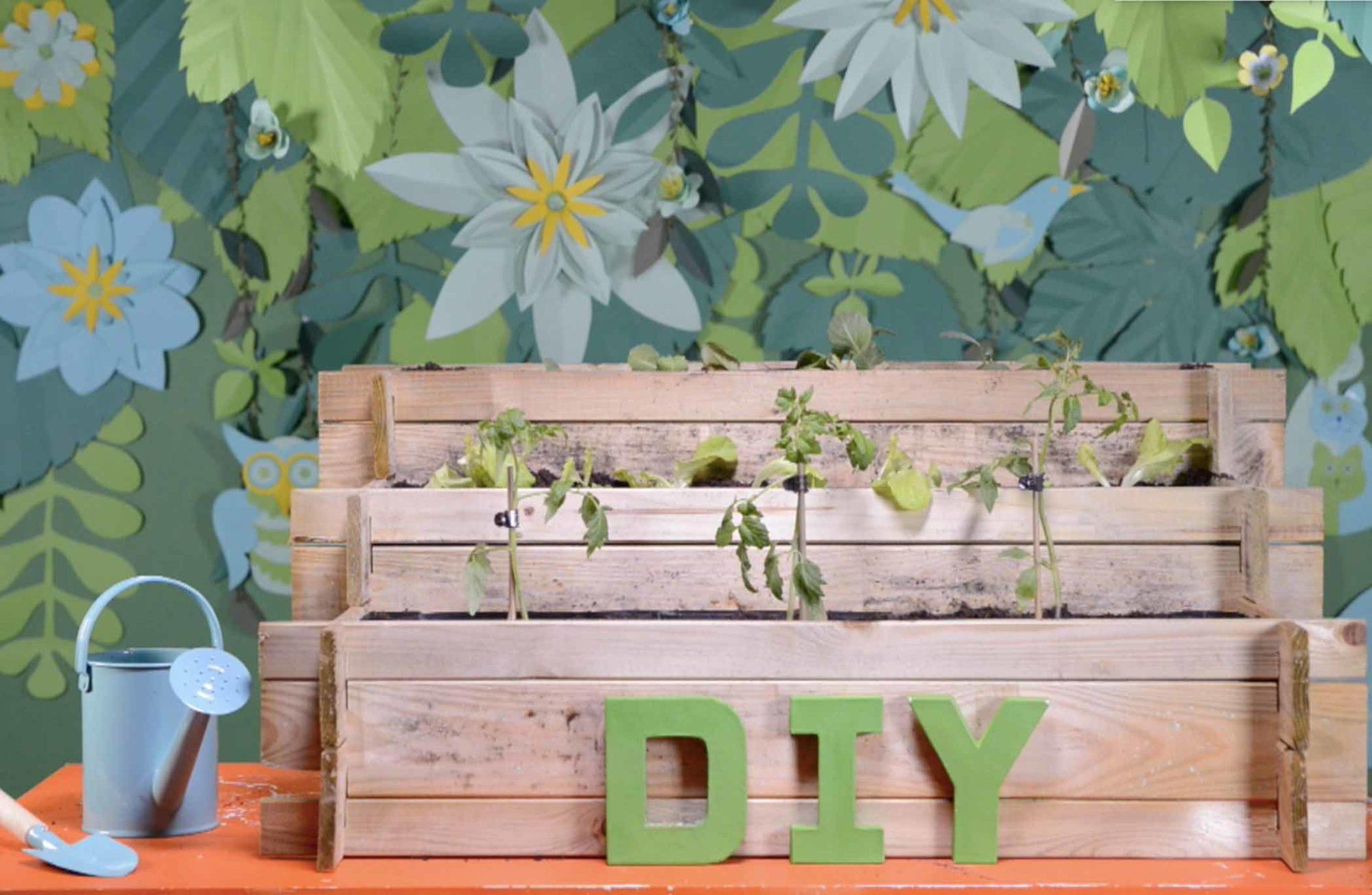 #DIY : Créer un carré potager