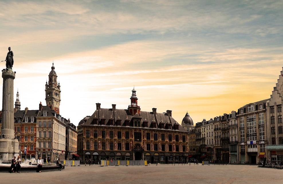 Grande place de Lille