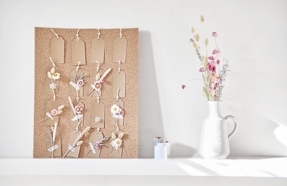 Etape 2 calendrier floral