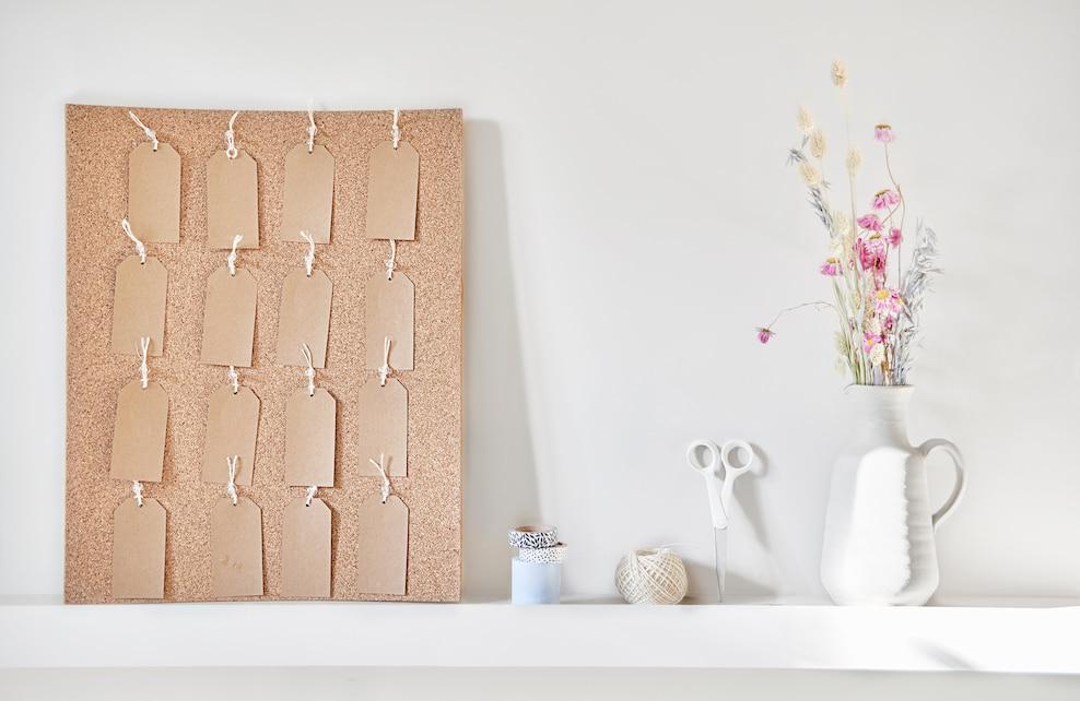 Etape 1 calendrier floral