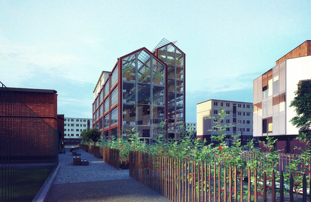 Projet de ferme urbaine à Romainville