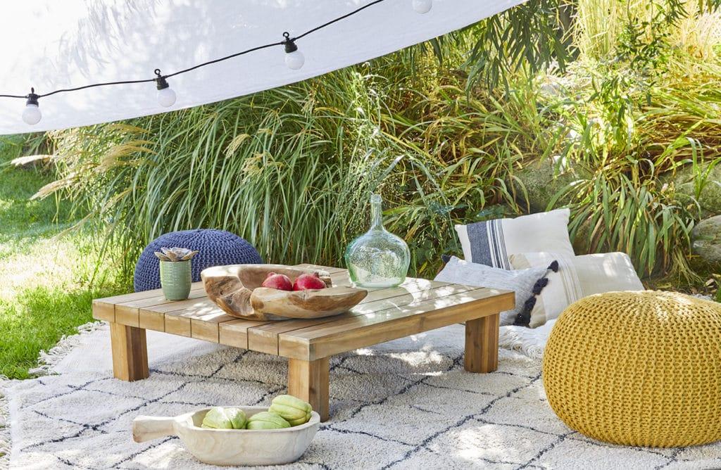 En manque d'idées pour un coin détente au jardin ?