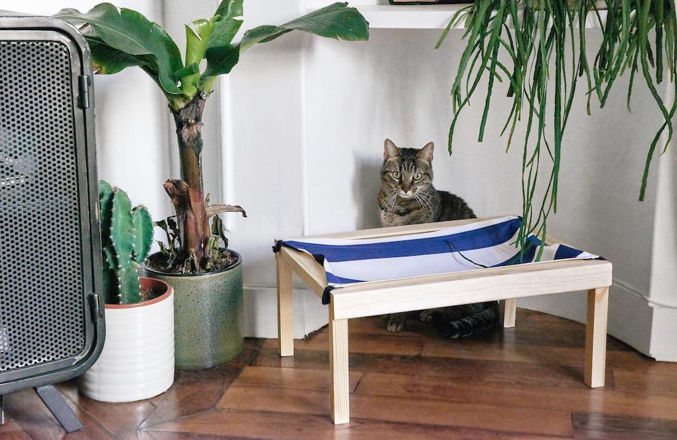 DIY hamac pour chat