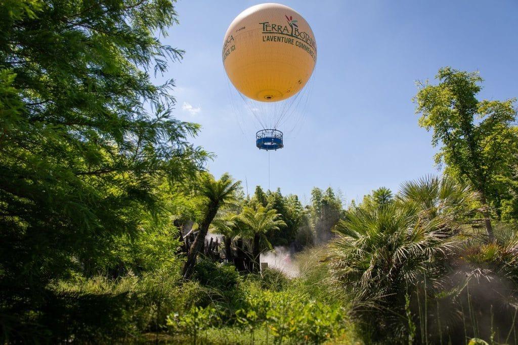montgolfière parc