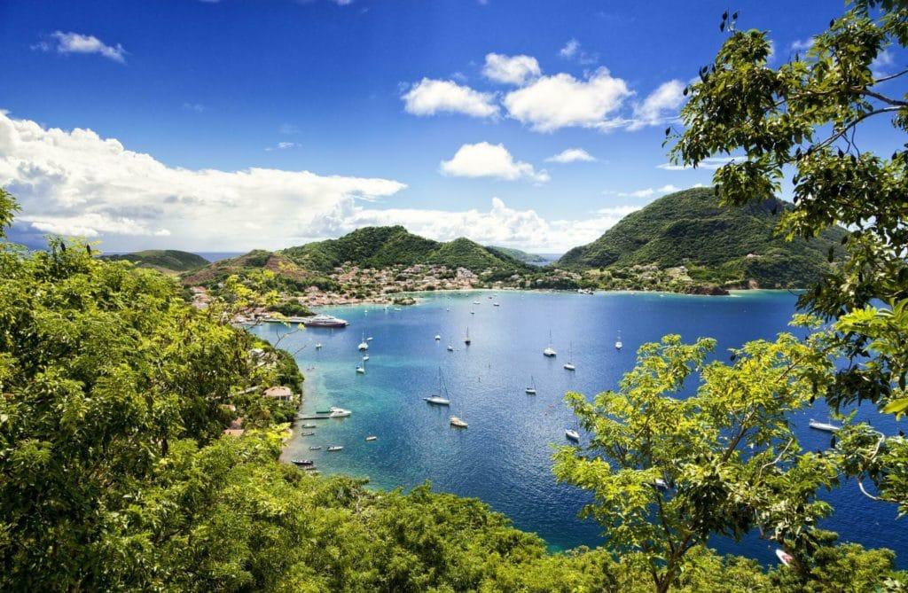 Zoom sur l'archipel de la Guadeloupe