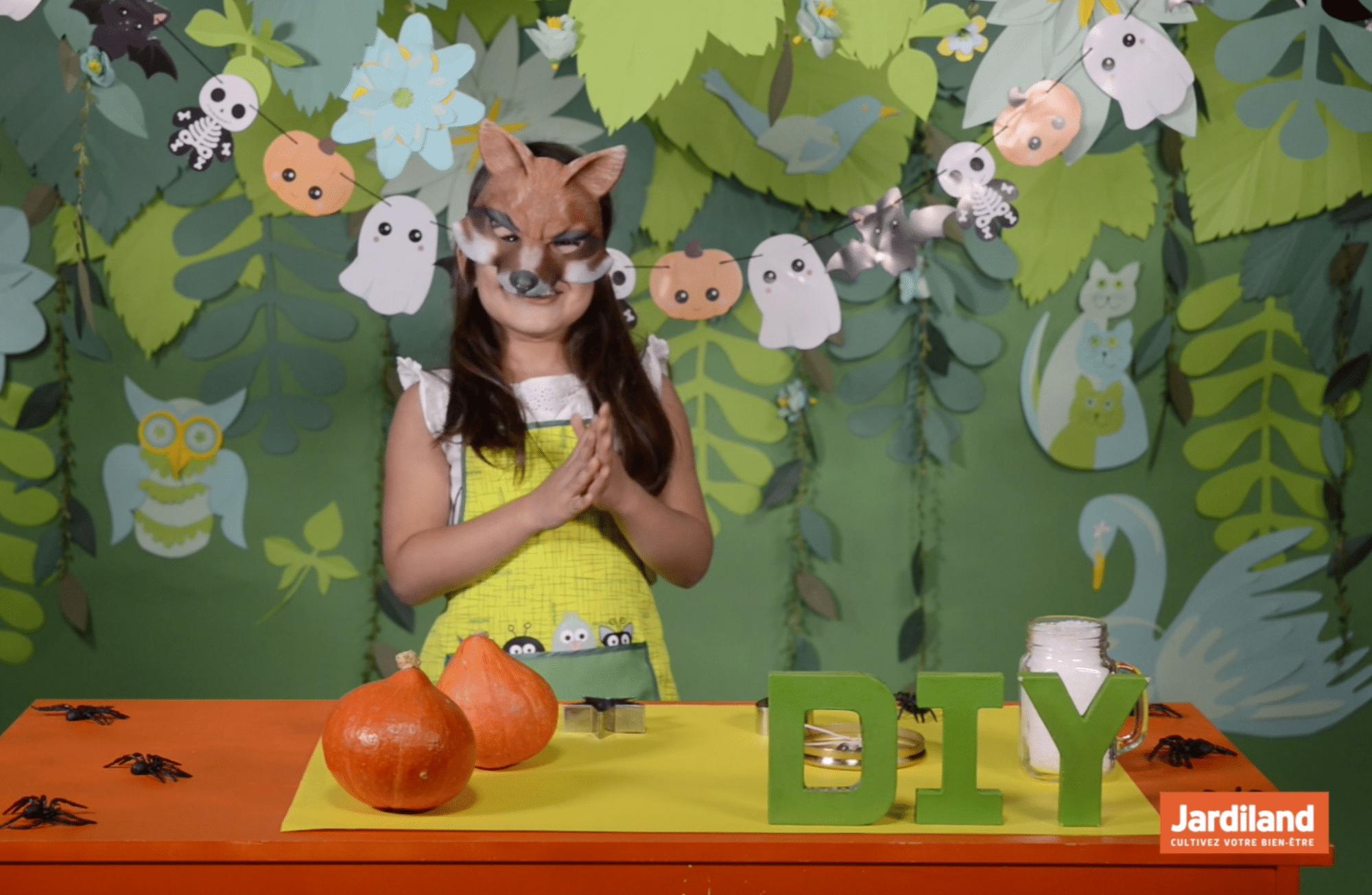 #DIY : Fabriquer des bougeoirs dans des potimarrons pour Halloween