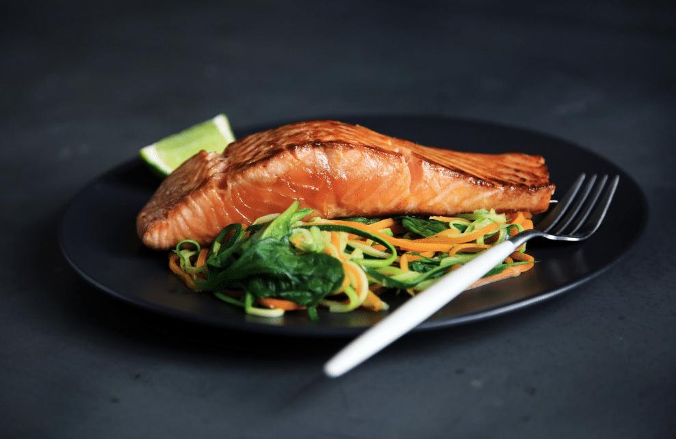 Du saumon, plat sain
