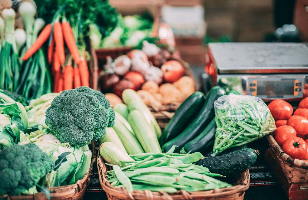 Des fruits et des légumes