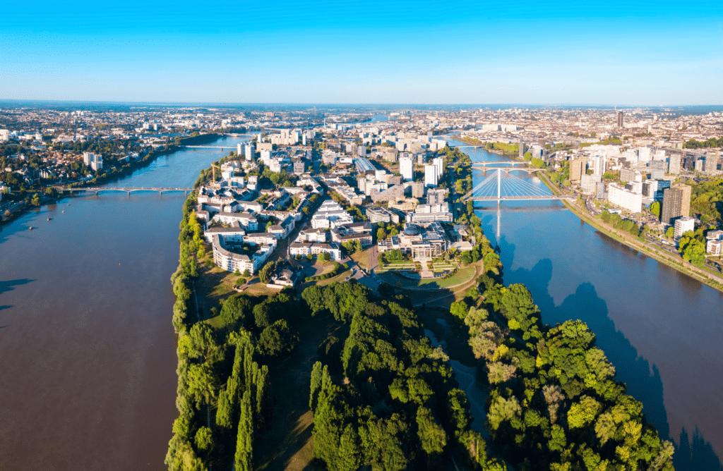Zoom sur la région Pays de la Loire