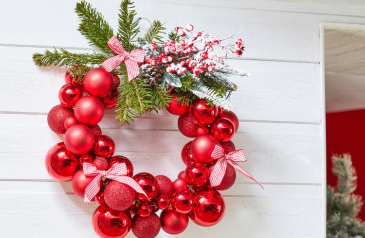 DIY Mon cintre-couronne de Noël