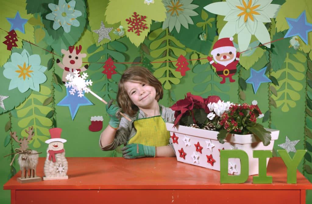 #DIY : Créer une composition de Noël dans une jardinière