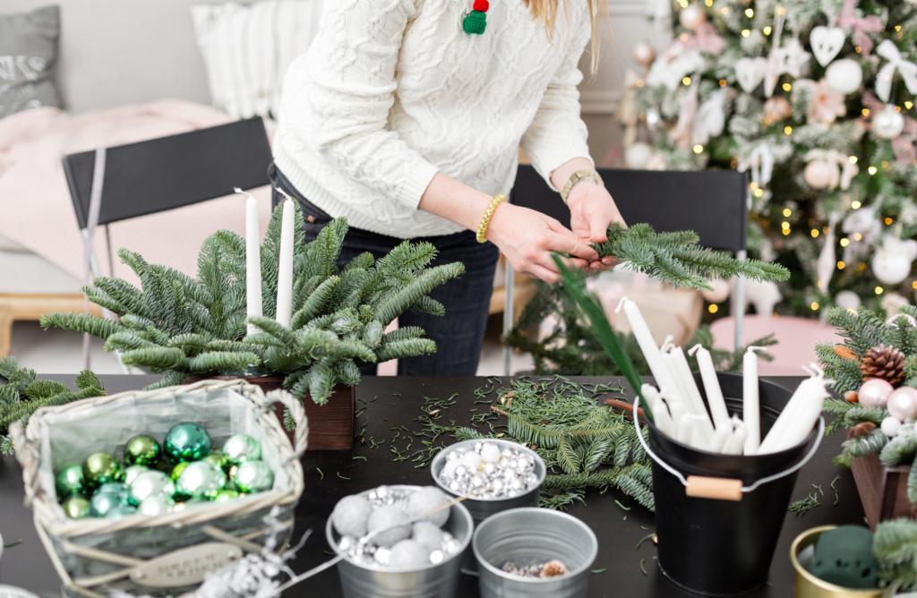 5 idées pour végétaliser votre déco de Noël