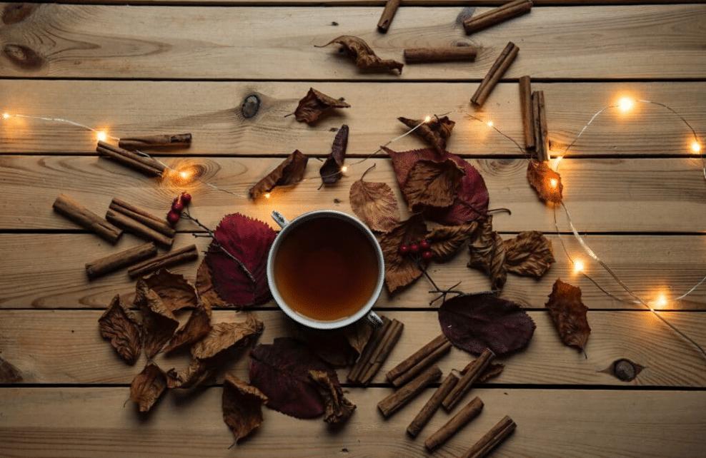 #1. Infusion au gingembre ou à la cannelle pour un avant-goût de Noël