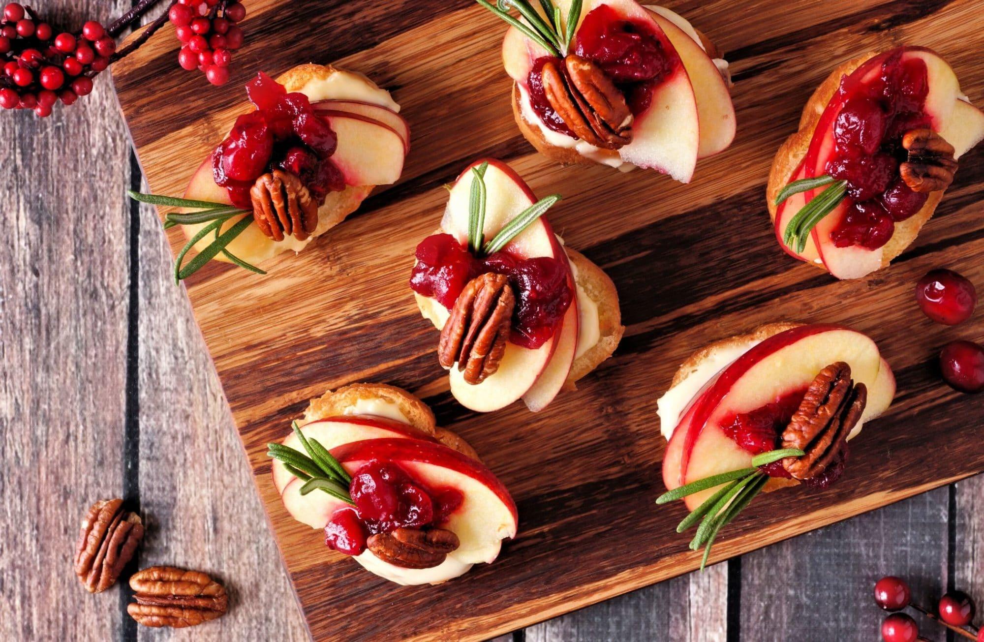 Top 6 des verrines et amuse-bouches végétariens pour Noël