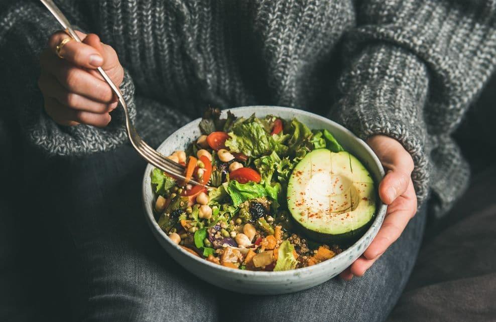 L'alimentation végétarienne et végétalienne
