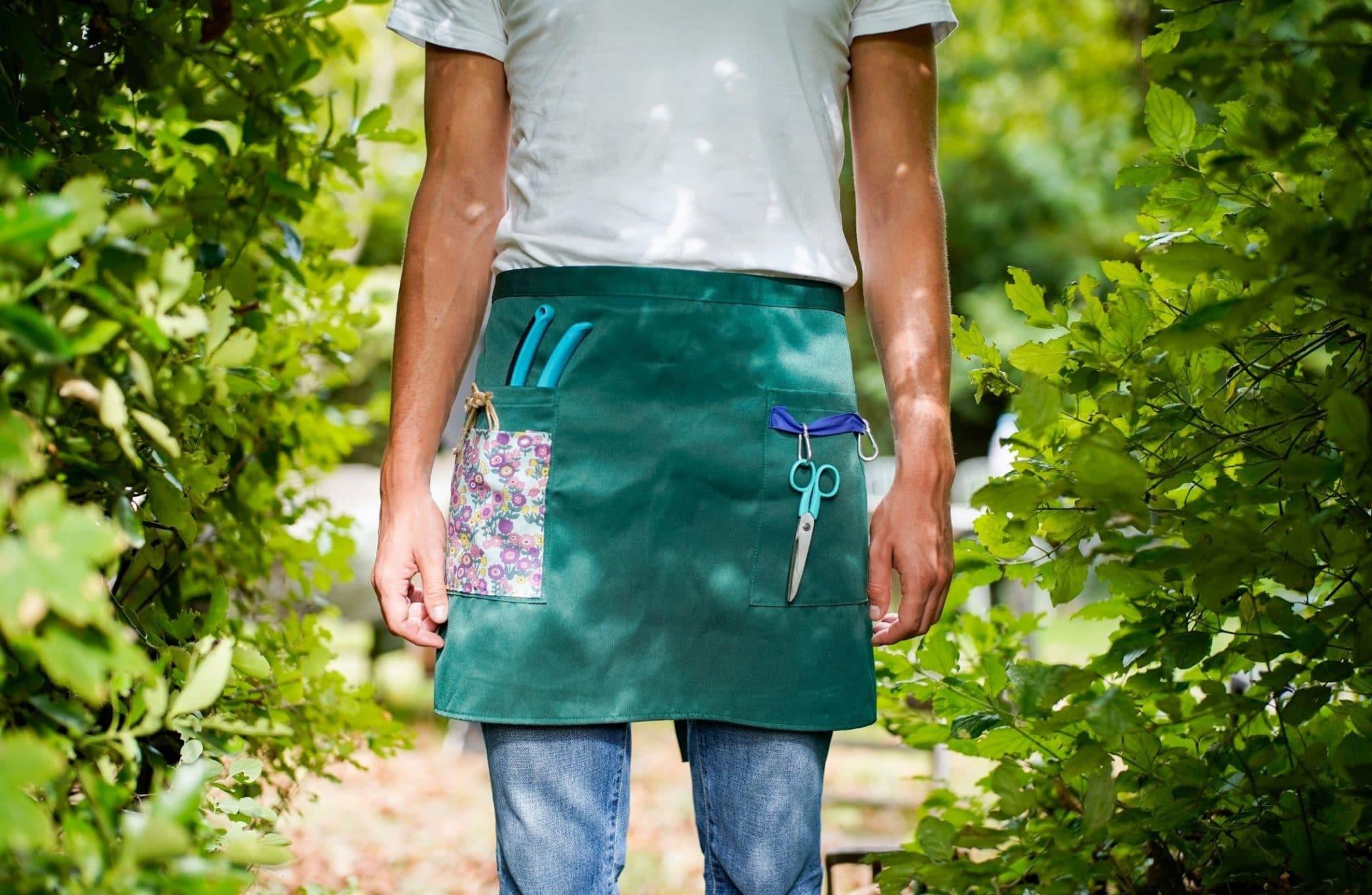 Comment customiser un tablier de jardin ?